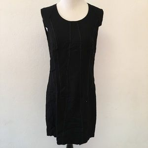 Helmut Lang Black Shift Dress size 10